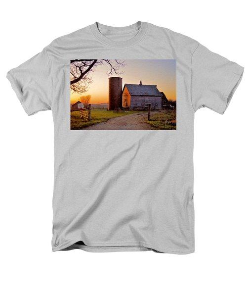 Spring At Birch Barn Men's T-Shirt  (Regular Fit) by Bonfire Photography