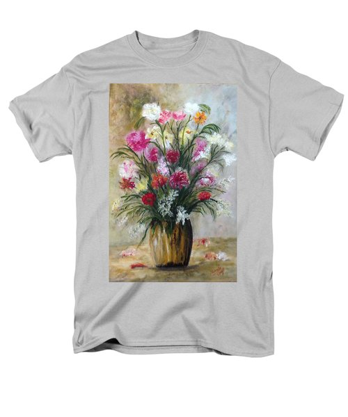 Spring Flowers Men's T-Shirt  (Regular Fit) by Renate Voigt