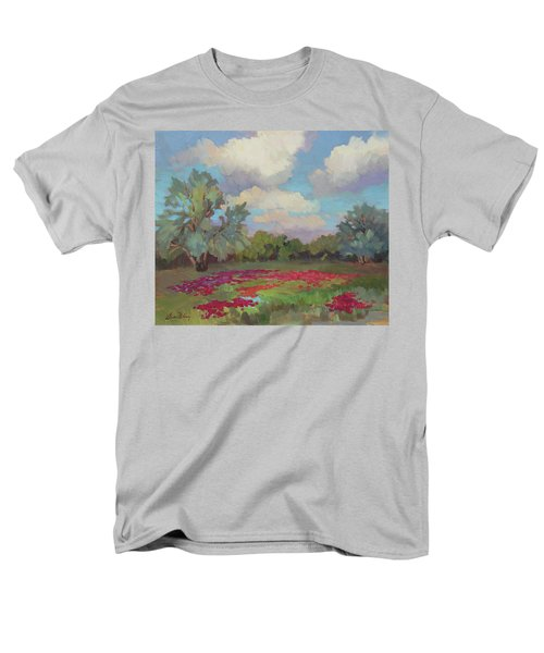 Men's T-Shirt  (Regular Fit) featuring the painting Spring Poppies by Diane McClary