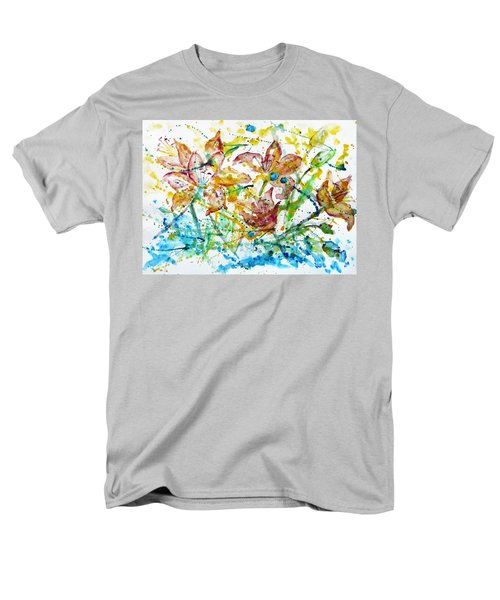 Spring Rhapsody Men's T-Shirt  (Regular Fit) by Jasna Dragun