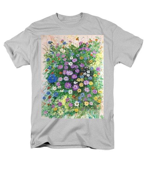 Spring Splendor Men's T-Shirt  (Regular Fit) by Lucia Grilletto