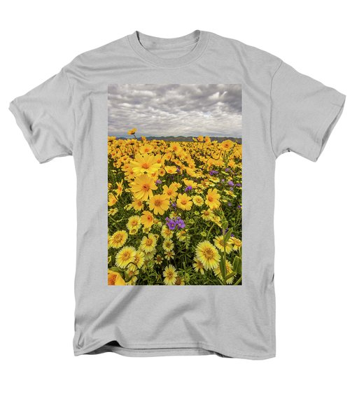 Men's T-Shirt  (Regular Fit) featuring the photograph Spring Super Bloom by Peter Tellone