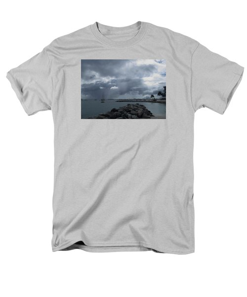 Squall In Simpson Bay St Maarten Men's T-Shirt  (Regular Fit) by Christopher Kirby