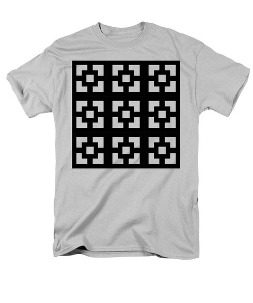 Squares Multiview Men's T-Shirt  (Regular Fit) by Chuck Staley