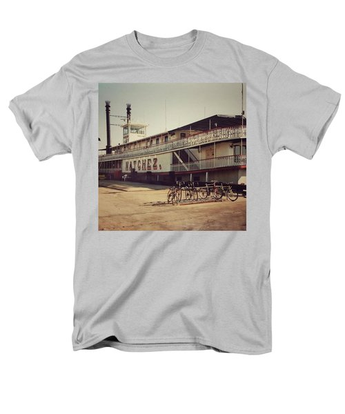 Ss Natchez, New Orleans, October 1993 Men's T-Shirt  (Regular Fit) by John Edwards