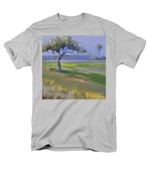 St. Augustine Spanish Castillo Men's T-Shirt  (Regular Fit) by Mary Hubley