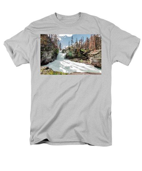 St. Mary Falls Men's T-Shirt  (Regular Fit)