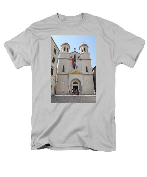Men's T-Shirt  (Regular Fit) featuring the photograph St Nicholas Kotor by Robert Moss