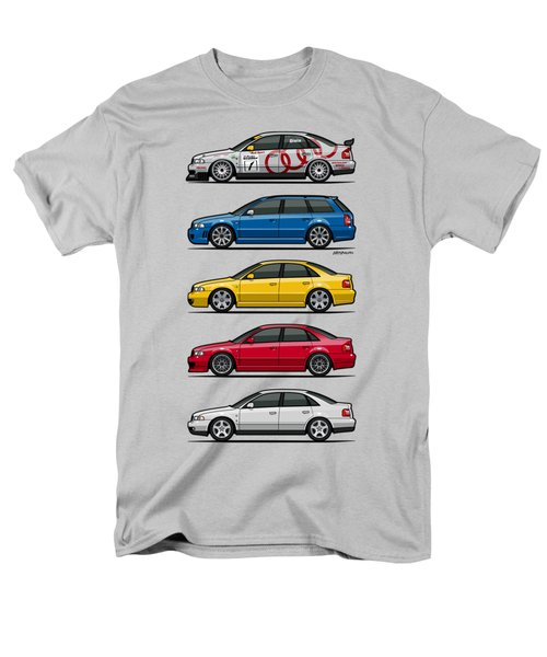 Stack Of Audi A4 B5 Type 8d Men's T-Shirt  (Regular Fit) by Monkey Crisis On Mars