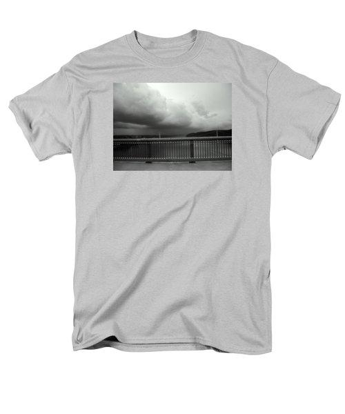 Storm Clouds On The Hudson Men's T-Shirt  (Regular Fit) by Bruce Carpenter