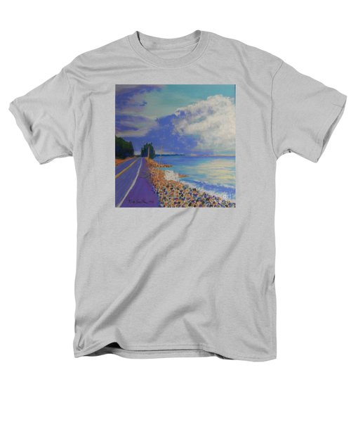 Storm Over Queensland Beach Men's T-Shirt  (Regular Fit) by Rae  Smith
