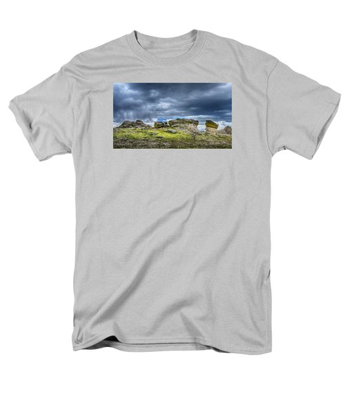 Stormy Peak 3 Men's T-Shirt  (Regular Fit) by Mary Angelini