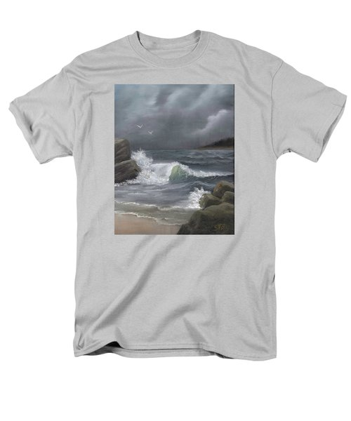 Stormy Waters Men's T-Shirt  (Regular Fit) by Sheri Keith