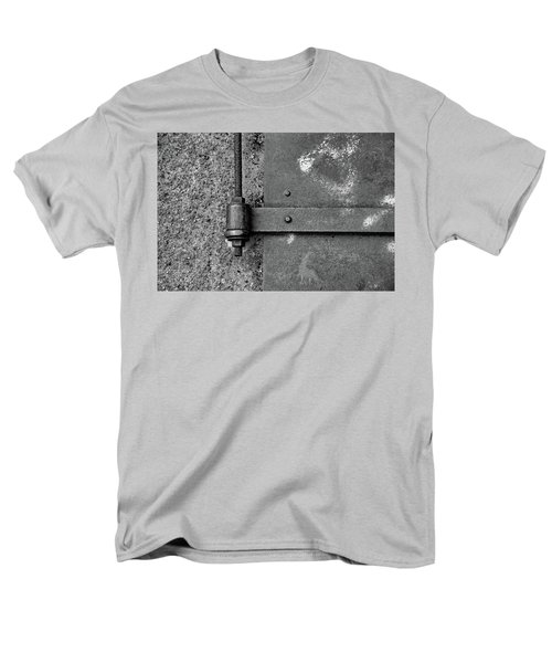 Men's T-Shirt  (Regular Fit) featuring the photograph Straight Metal by Karol Livote