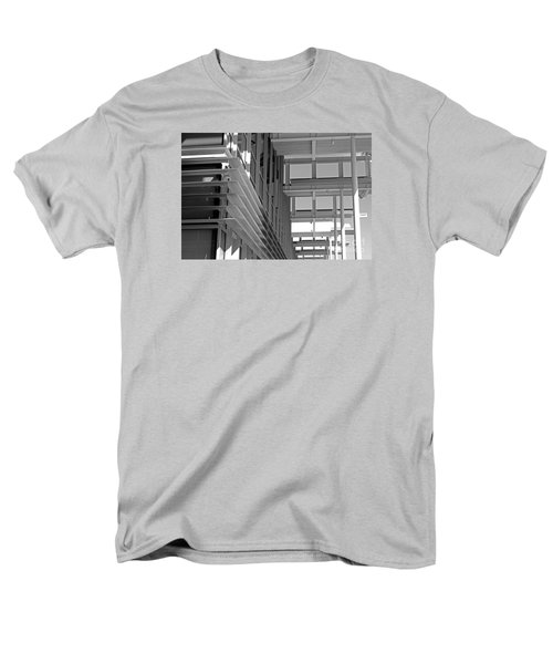 Men's T-Shirt  (Regular Fit) featuring the photograph Structure Abstract 2 by Cheryl Del Toro