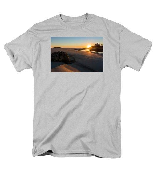 Sun Up Good Harbor Men's T-Shirt  (Regular Fit) by Michael Hubley