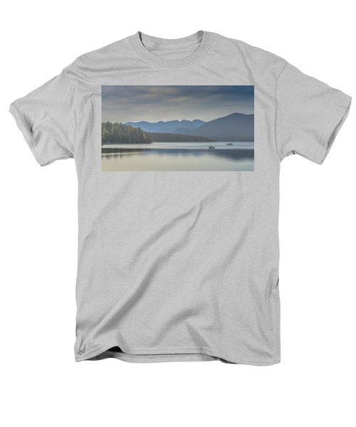 Men's T-Shirt  (Regular Fit) featuring the photograph Sunday Morning Fishing by Chris Lord