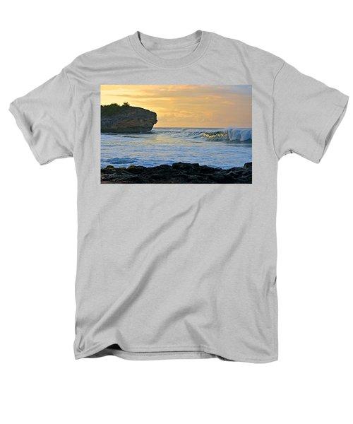 Sunlit Waves - Kauai Dawn Men's T-Shirt  (Regular Fit) by Marie Hicks