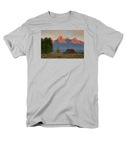 Men's T-Shirt  (Regular Fit) featuring the photograph Sunrise In Jackson Hole by Steve Stuller
