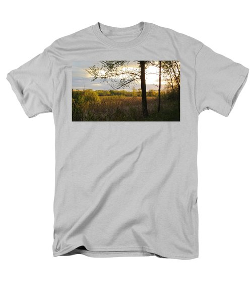 Sunset At Scuppernong II Men's T-Shirt  (Regular Fit) by Kimberly Mackowski