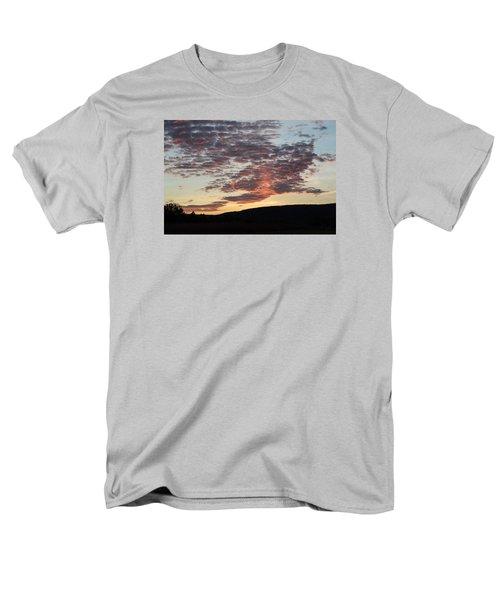 Sunset On Hunton Lane #9 Men's T-Shirt  (Regular Fit) by Carlee Ojeda