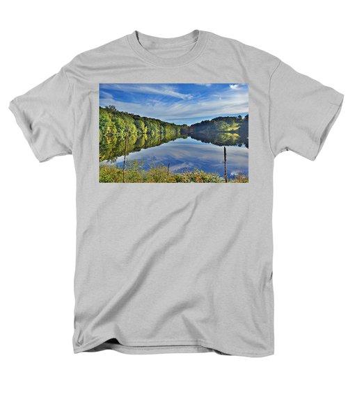 Swan Lake Times Two Men's T-Shirt  (Regular Fit) by Jeffrey Friedkin