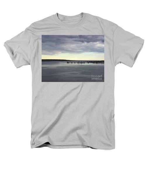 Swirling Currents On Casco Bay Men's T-Shirt  (Regular Fit) by Patricia E Sundik