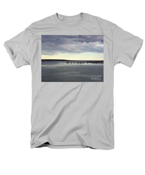 Swirling Currents On Casco Bay Men's T-Shirt  (Regular Fit)