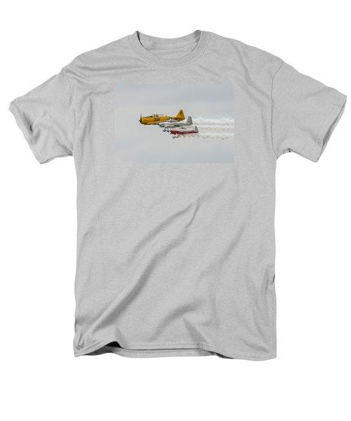 T-6 Texan   Rv-8   Dr-107 Men's T-Shirt  (Regular Fit) by Susan  McMenamin