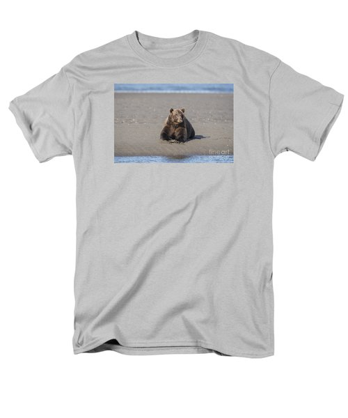 Men's T-Shirt  (Regular Fit) featuring the photograph Taking A Break by Sandra Bronstein