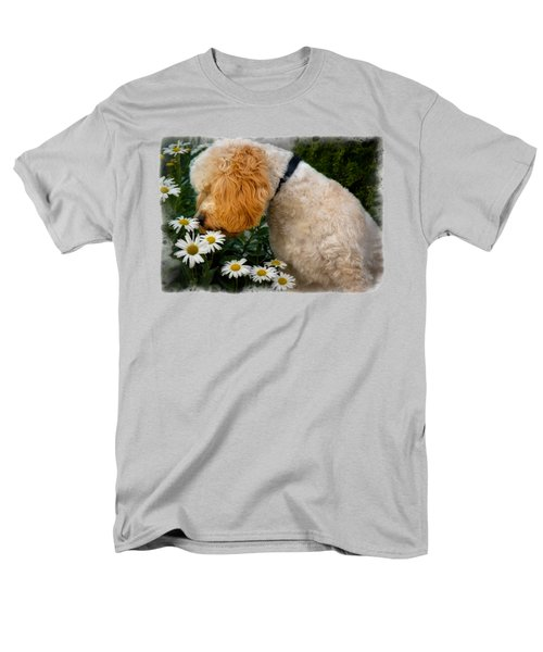 Men's T-Shirt  (Regular Fit) featuring the photograph Taking Time To Smell The Flowers by Susan Candelario