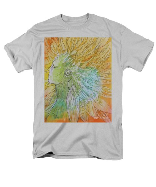 Men's T-Shirt  (Regular Fit) featuring the drawing Te-fiti by Marat Essex