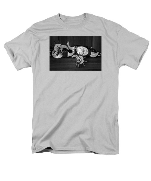 Men's T-Shirt  (Regular Fit) featuring the photograph Texas Spurs by Tom Mc Nemar