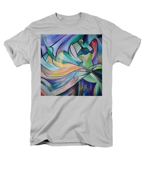 The Art Of Belly Dance Men's T-Shirt  (Regular Fit) by Tracey Harrington-Simpson
