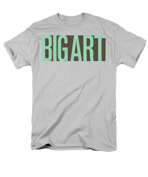 The Big Art - Pure Emerald On Cotton Men's T-Shirt  (Regular Fit) by Serge Averbukh