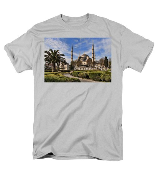The Blue Mosque In Istanbul Turkey Men's T-Shirt  (Regular Fit) by David Smith