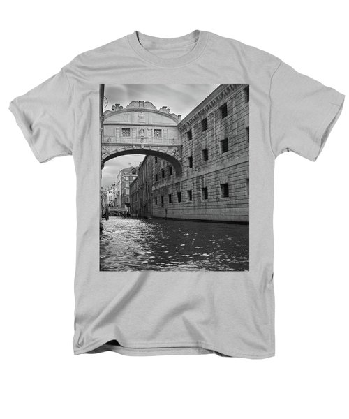 Men's T-Shirt  (Regular Fit) featuring the photograph The Bridge Of Sighs, Venice, Italy by Richard Goodrich