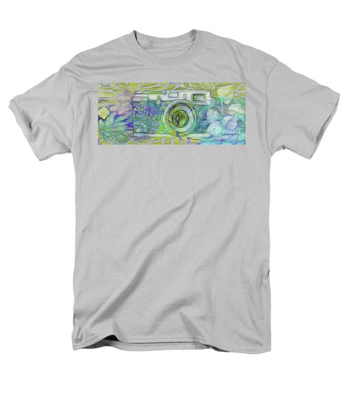 Men's T-Shirt  (Regular Fit) featuring the digital art The Camera - 02c5b by Variance Collections
