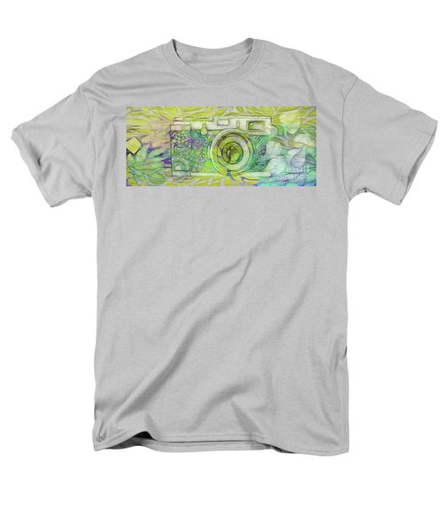 Men's T-Shirt  (Regular Fit) featuring the digital art The Camera - 02c5bt by Variance Collections