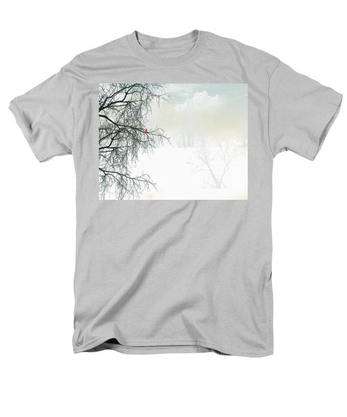 Men's T-Shirt  (Regular Fit) featuring the digital art The Cardinal by Trilby Cole