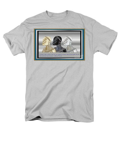 Men's T-Shirt  (Regular Fit) featuring the digital art The Divine Sisters by Jacqueline Lloyd