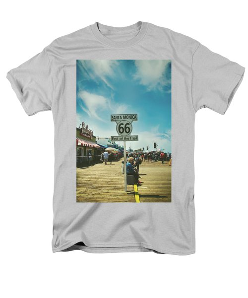 The End Of Sixty-six Men's T-Shirt  (Regular Fit) by Laurie Search