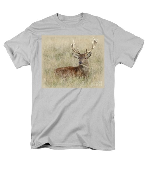 The Gentle Stag Men's T-Shirt  (Regular Fit) by LemonArt Photography