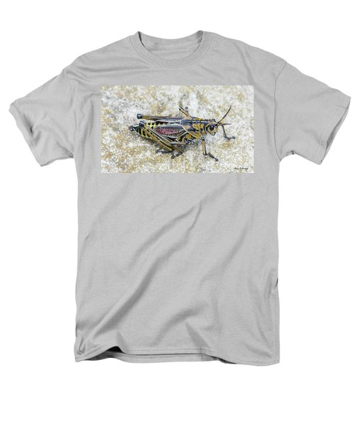 The Hopper Grasshopper Art Men's T-Shirt  (Regular Fit) by Reid Callaway