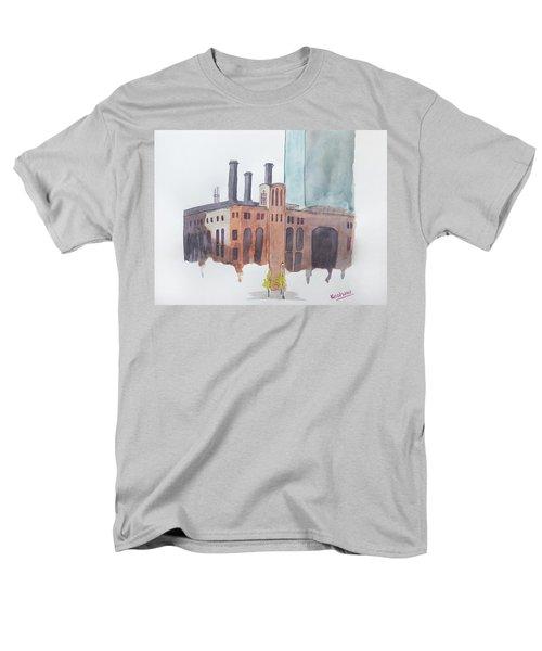 The Jersey City Powerhouse Men's T-Shirt  (Regular Fit) by Keshava Shukla