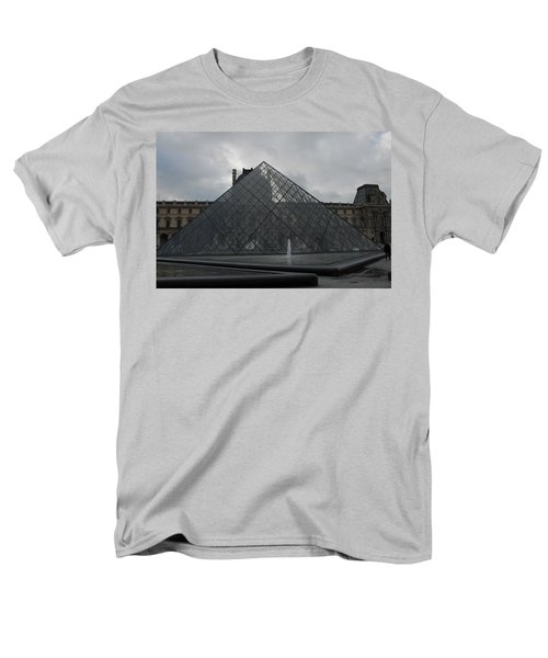 Men's T-Shirt  (Regular Fit) featuring the photograph The Louvre And I.m. Pei by Christopher Kirby