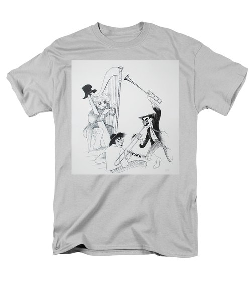 The Marx Brothers O Men's T-Shirt  (Regular Fit) by Rob Hans