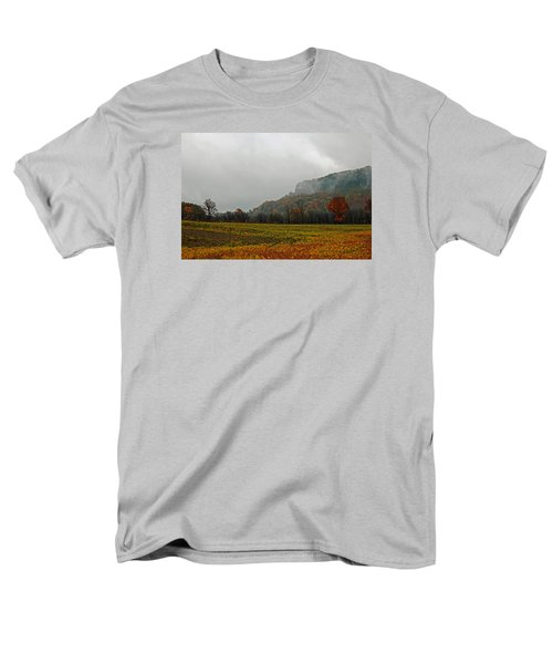 Men's T-Shirt  (Regular Fit) featuring the photograph The Mist by John Stuart Webbstock