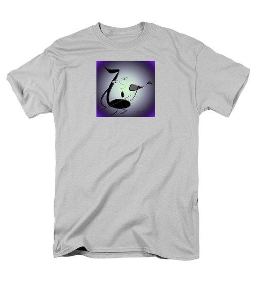 The Musician 29 Men's T-Shirt  (Regular Fit) by Iris Gelbart