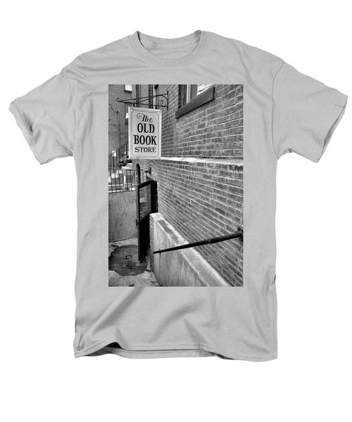 Men's T-Shirt  (Regular Fit) featuring the photograph The Old Book Store by Karol Livote